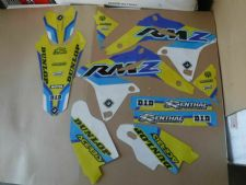 New RMZ 250 10-18 FLU PTS4 Graphics Sticker Decals Kit RMZ250